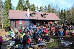 Steinar Saghaug. Grønlihytta som markastue kan bli et fint tilbud til beboere i bydel Alna, mener Østmarkas Venner.