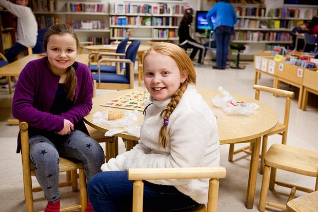 God stemning på Tromsdalen bibliotek.
