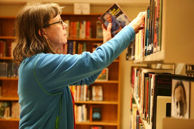 Bibliotekar Inger Seim