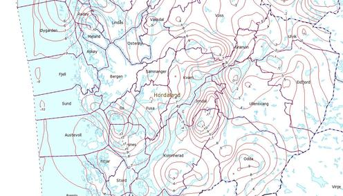 Kart høgdegrunnlag