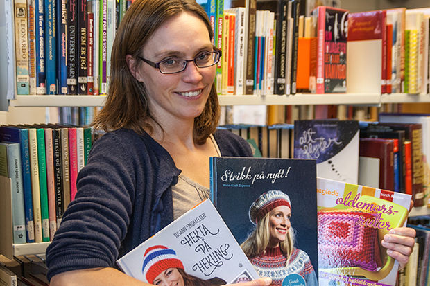 Bibliotekar Lene Kjølås