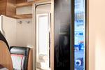 ET STORT og moderne kjøleskap finner du i kjøkken-avdelingen.