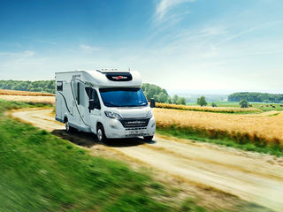 MALIBU satser både på halv- og helintegrerte biler samt i Van-segmentet. Alle foto: MALIBU-CARTHAGO