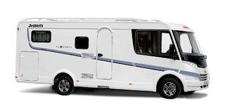 ALLE MODELLENE kan fås i halv- eller helintegrerte. Her Globebus, som nå blir Globebus Active.