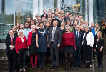 Det nye kommunestyret er valgt for perioden 2015-2019.