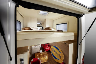 FLEKSIBILITET er stikkordet for Brevio. Det er god plass også under sengen som du ser.