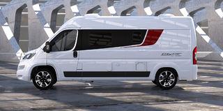 MED CITY CAR er Bürstner nå også med på markedet blant van-modellene.