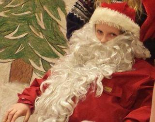 julenisse - barn -skoleteater