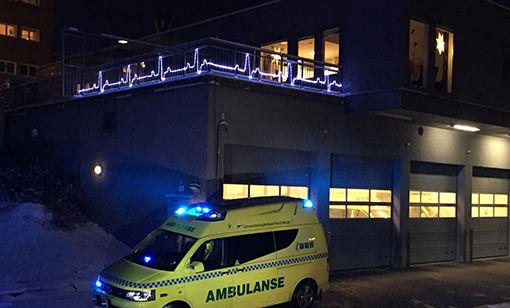 ambulansedekorasjon
