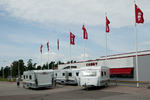 63 PERSONER mister jobben når campingvogn-produsenten Cabby i Kristinehamn i Värmland nå er blitt slått i konkurs. Foto/rights: KJELL-ERIK KRISTIANSEN/caravan2400.com