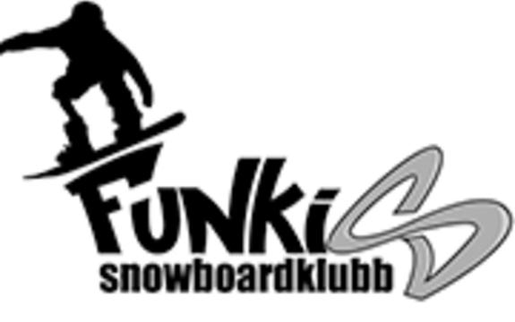 Logoen til Funkis Snowboardklubb