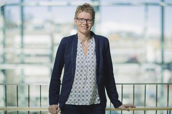 Britt Elin Steinveg blir ny administrasjonssjef. Foto: Marius Fiskum