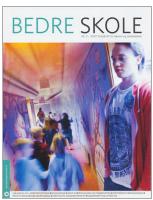 Omslaget til fagbladet Bedre skole