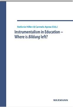 Omslaget til boka Instrumentalism in education - where is Bildung left?