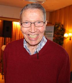 Kai Ekanger, leder for Østmarkas Venner i 1988-1991 og 1993-1998, har nå skaffet hovedtalere til minnestunden på Sarabråten 50 år på rad. Foto: Steinar Saghaug.