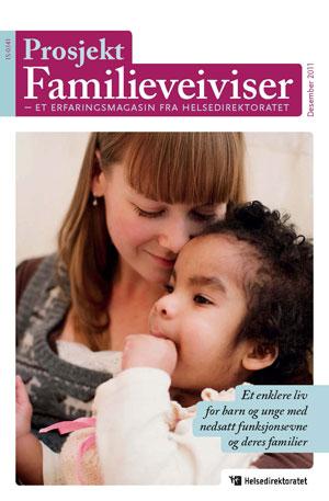 Omslaget til magasinet Familieveiviser