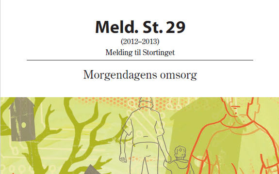 Ingressbilde Meld. St. 29 Morgendagens omsorg