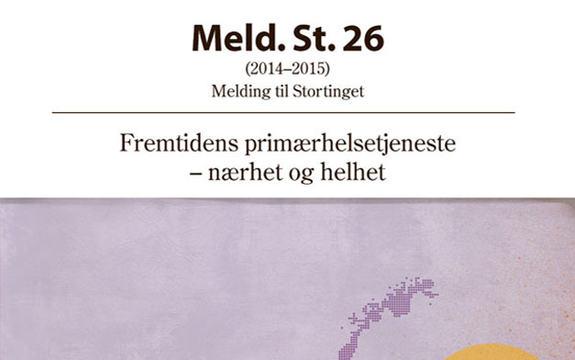 Ingressbilde Meld. St. 26 Fremtidens primærhelsetjeneste – nærhet og helhet