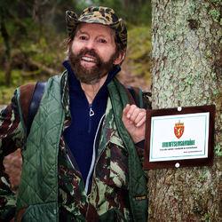 Den legendariske naturfotografen og forfatteren Sverre M. Fjelstad har bidratt med sju delkapitler og mange fotografier. Foto: Per Erik Fjeld.
