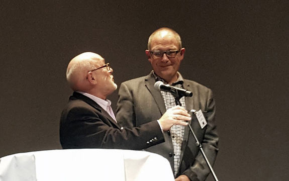Anders Midtsundstad mottar SOR-prisen 2016