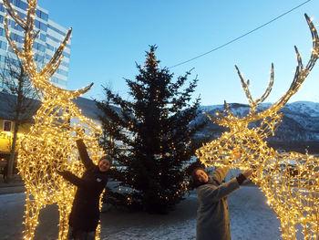 Julebelysning Strandtorget Røymo