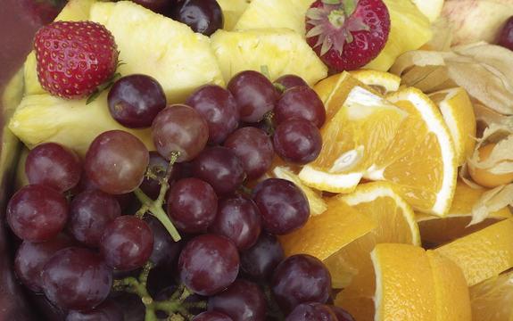 Bilde av fruktfat