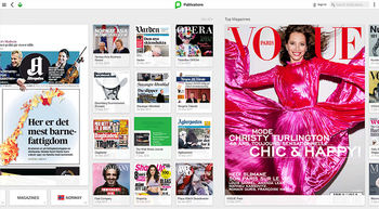 Pressreader har aviser og magasiner fra hele verden.