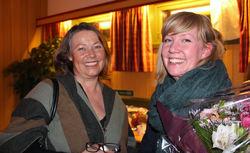 Kristin Lund er nytt styremedlem, mens Silje Helen Hanssen går fra styret til valgkomiteen. Foto: Steinar Saghaug.