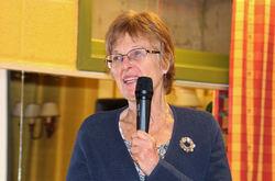 Inger Tangen fra Lørenskog har vært styremedlem i ØV i ti år men fant tiden inne til å si takk for seg. Foto: Steinar Saghaug.