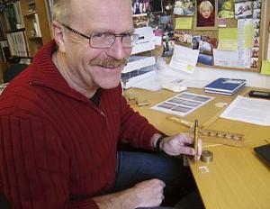 Malerikonservator og seniorforsker Jon Brænne