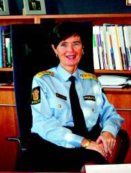 Politidirektør Ingelin Killengreen understreker viktigheten av å integrere miljøarbeidet inn i den alminnelige tjenesten i politiet. Foto: Kenneth Didriksen, Økokrim