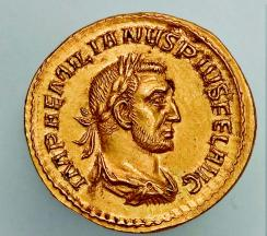 Forfalsket romersk gullmynt