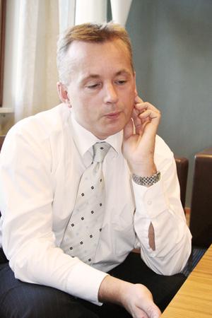 Justisminister Knut Storberget