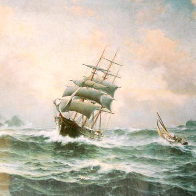 Maleriet «Losen går ut»