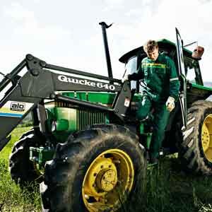 Illustrasjonsbilde fra Arbeidstilsynet, traktor
