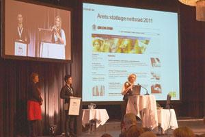 Lillian Nordby Øktner, Mie Skarpaas, Difi kvalitetskonferanse
