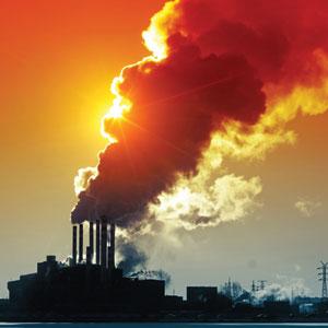Illustrasjonsbilde av forurensning