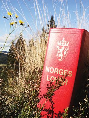 Bilde av Norges lover i naturen