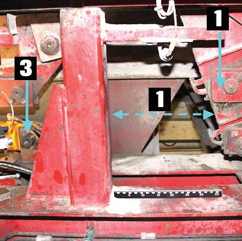Bilde som viser hvor ulykken inntraff