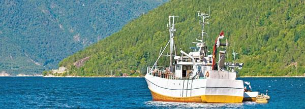 Illustrasjonsbilde av båt