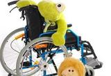 Rullestol med bamse