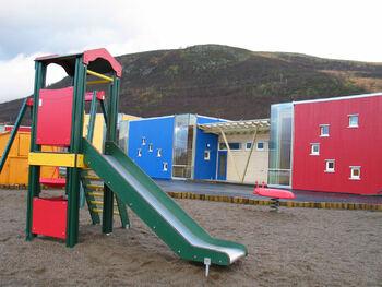 Illustrasjonsfoto uteområde barnehage