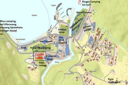 Kart_Kinsarvik