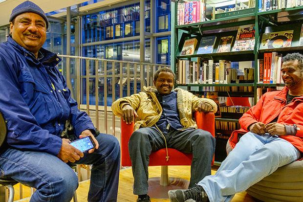 Biblioteket er for alle.