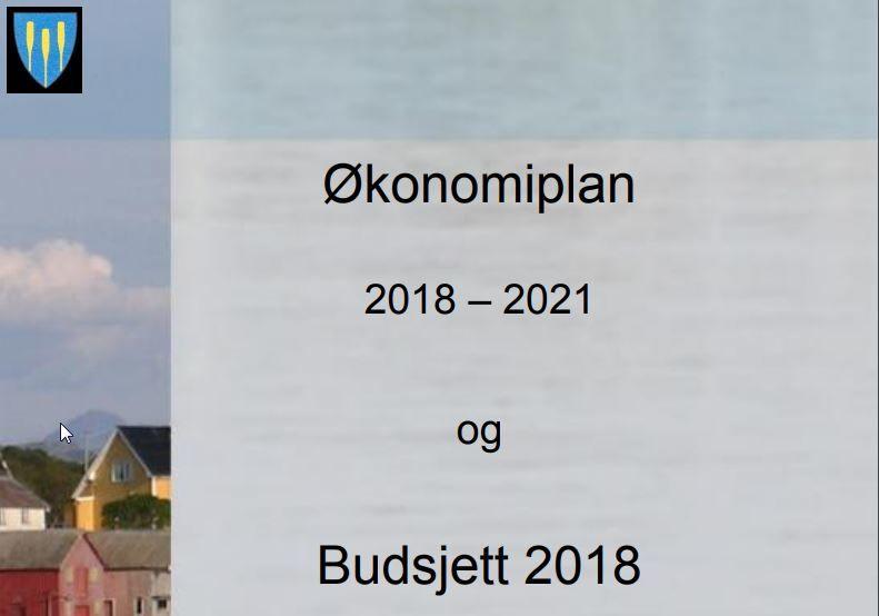 Budsjett og økonomiplan 2017