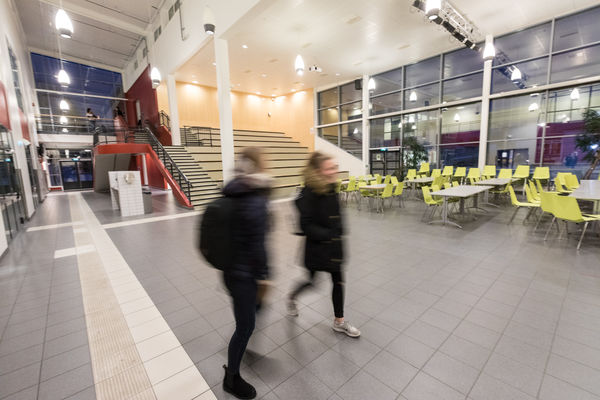 Seljestad ungdomsskole atrium