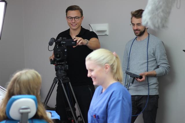 Filmproduksjon hos TkØ