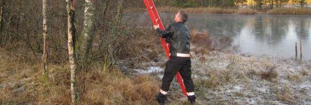 brannmann set opp isstege
