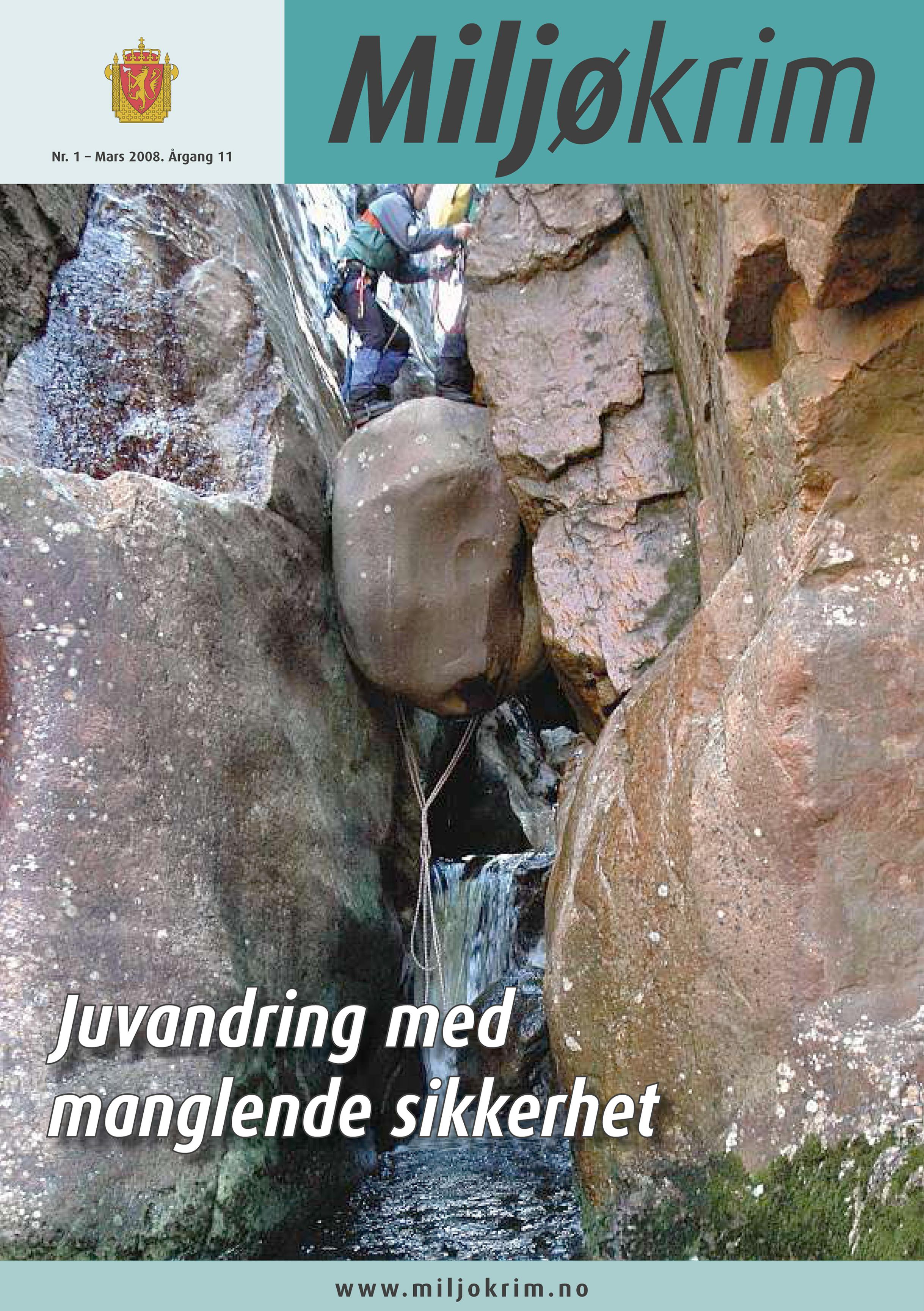 Cover Miljøkrim 2008, 1