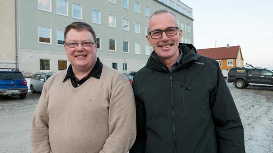 Hugo Thode Hansen og Max Jenssen